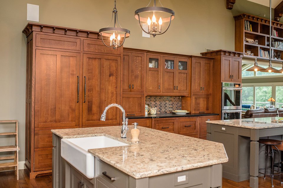 Beau Craftsman Kitchen